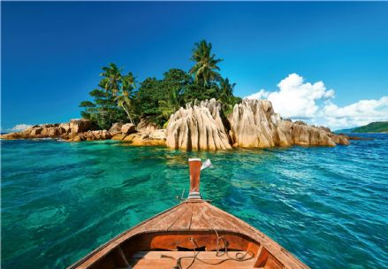 Photo wallpaper St.Pierre Island At Seychelles